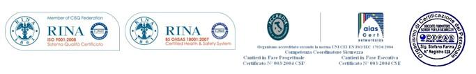 Geometra Stefano Farina: Certificazioni