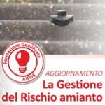 29 gennaio 2016 – LA GESTIONE DEL RISCHIO AMIANTO