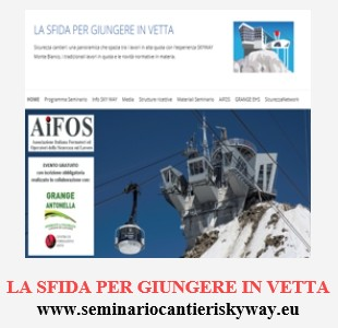 SKYWAY: LA SFIDA PER GIUNGERE IN VETTA